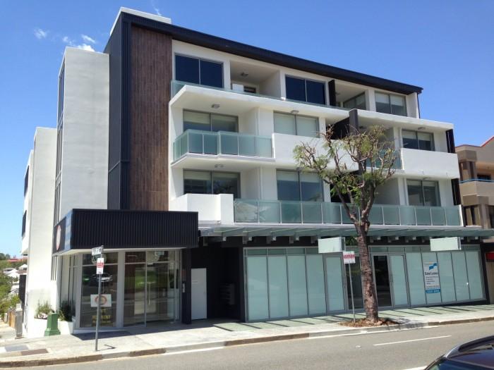Newfarm Apartments Complete system tile adhesive project